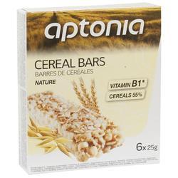 Barrita cereales natural 6x25g