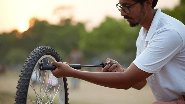 Hoe kies ik een fietspomp?