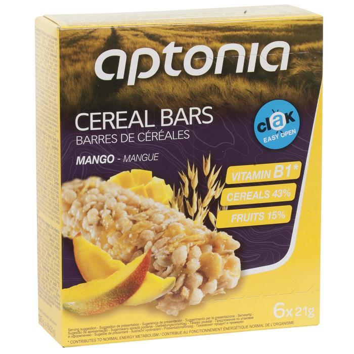 Barrita de cereales CLAK mango 6 x 21 g