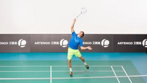 Spanning badminton