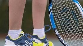 Tennissnaar kiezen