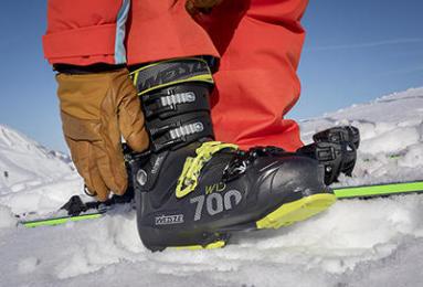 Skischoenen passen