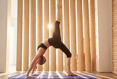 loss laten met yoga