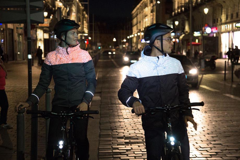 zichtbaar op de fiets