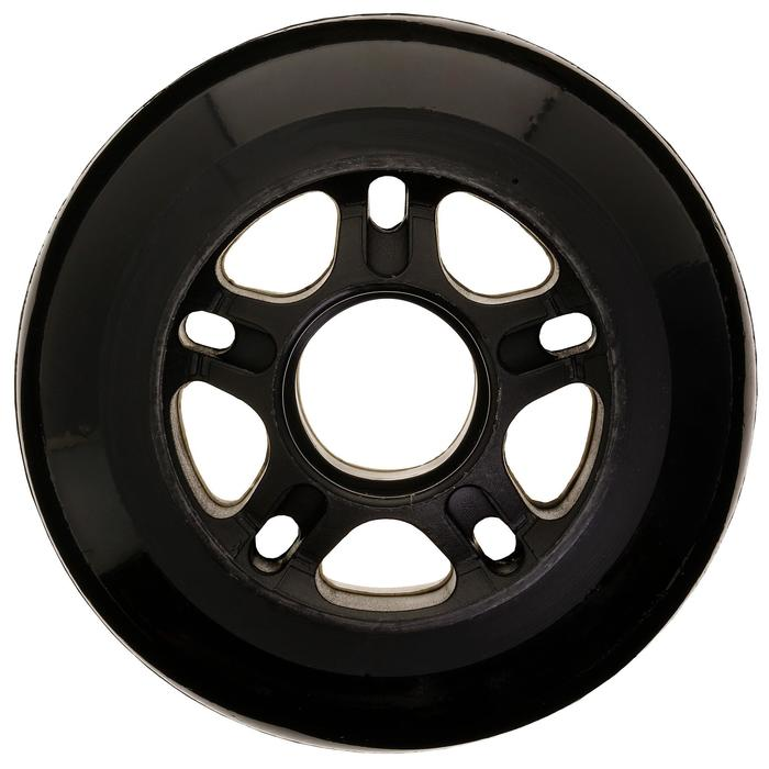 4 wielen voor inlineskates Fit 80 mm 84A zwart