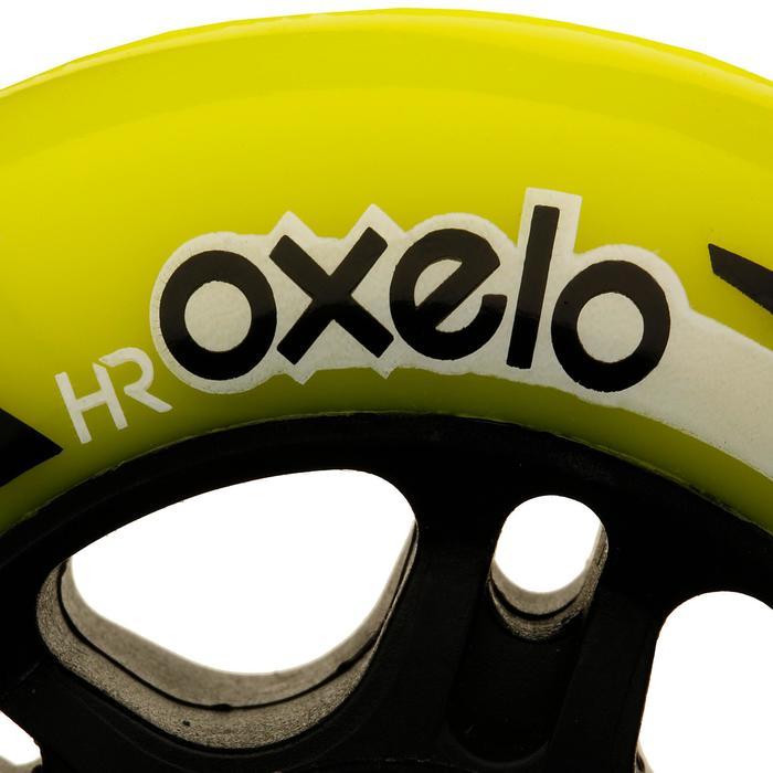 4 ruedas roller fitness FIT 80 mm 84A amarillo