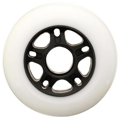 4عجلات تزلج 84مم 84A -مجموعة-بيضاء