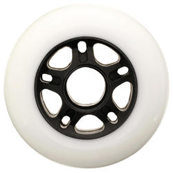 4 roues patin fitness 84 mm 84A blanches