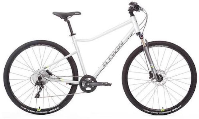 fahrrad 28 cross trekkingrad riverside 900 alu hellgrau b. Black Bedroom Furniture Sets. Home Design Ideas
