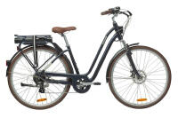 "E-BIKE 28"" ELOPS 900 DAMEN HECKMOTOR 418WH B'TWIN"