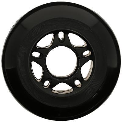 Fit Inline Skate 76 mm 80A Wheels x4 - Black