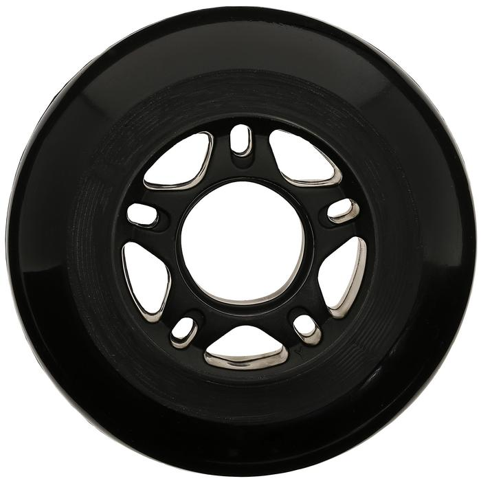4 roues roller fitness adulte FIT 76mm 80A noires - 14636