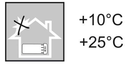 ROCKRIDER e-ST 500 MTB - Tárolási hőmérséklet