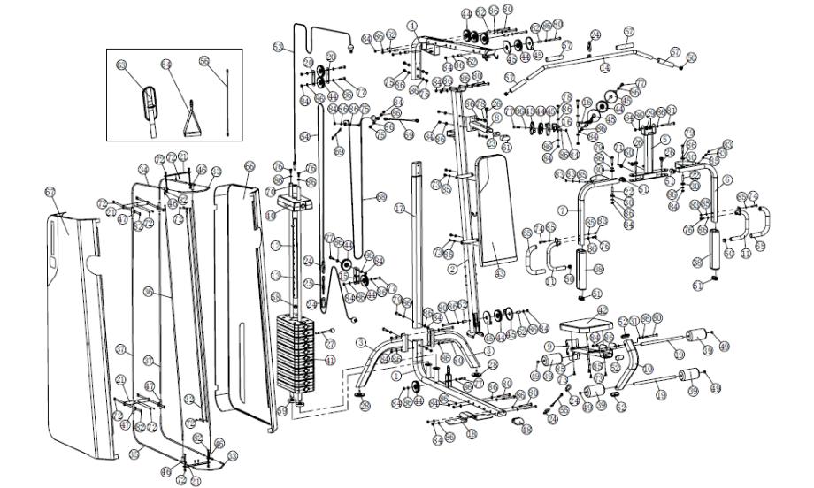 Domyos hg compact decathlonsav - Notice de montage banc de musculation domyos hg050 ...