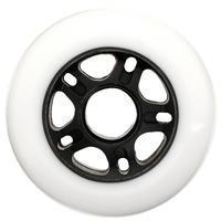 4 ruedas patines adulto FIT 80 mm. 80A blanco