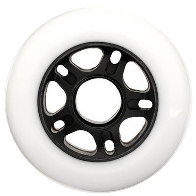 Набір коліс Fit для дорослих роликових ковзанів, 80А, 80 мм, 4 шт. - Білий
