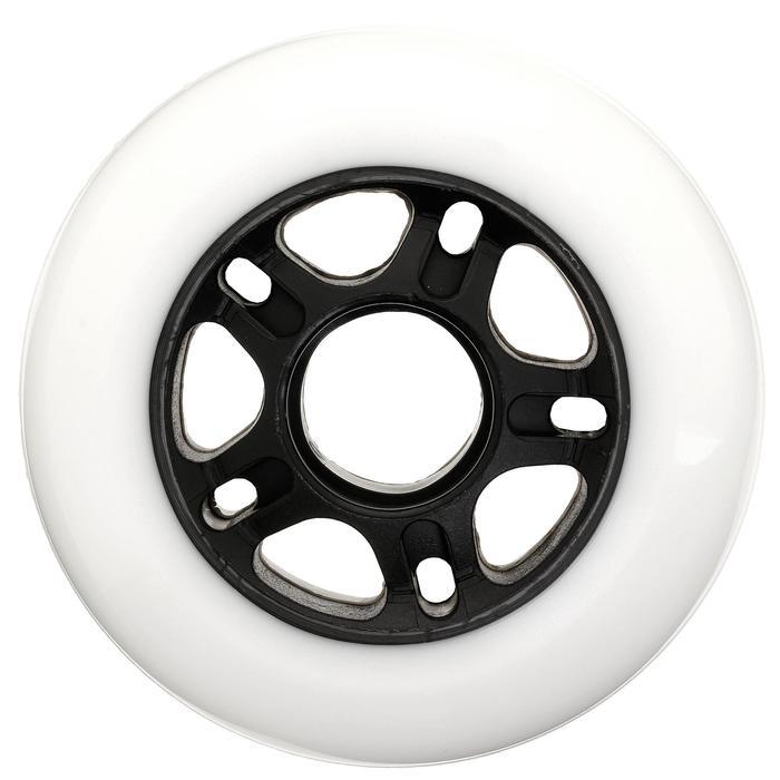4 ruedas roller adulto FIT 80 mm 80A blanco