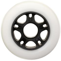 4 wielen voor inlineskates FIT 80 mm 84A wit