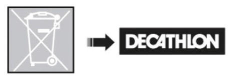 ROCKRIDER e-ST 500 MTB - az akkumulátor újrahasznosítása