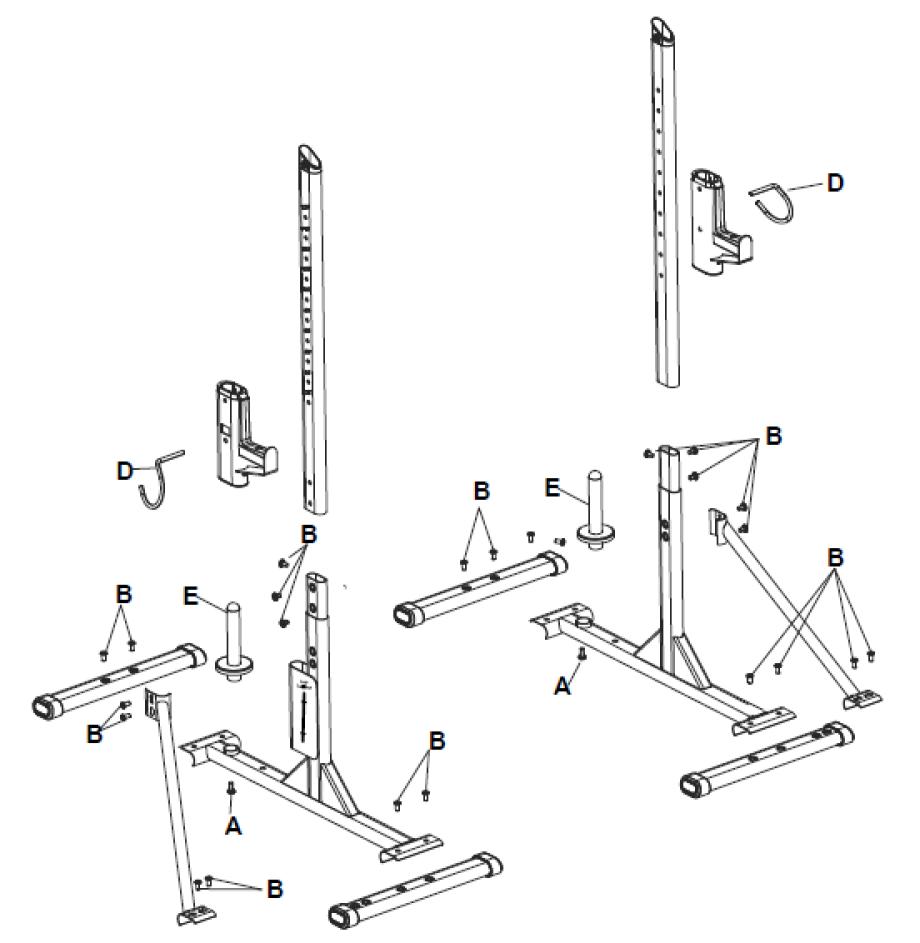 Rack 100 decathlonsav - Notice de montage banc de musculation domyos hg050 ...