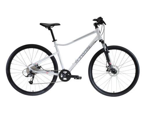 bicicleta ciclismo spv bicicleta polivalente excursión viaje ciclista btwin