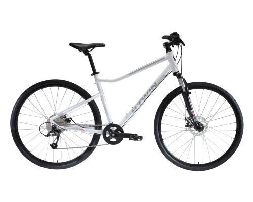 велосипед тех. обслуживание гибридный велосипед поход поездка btwin