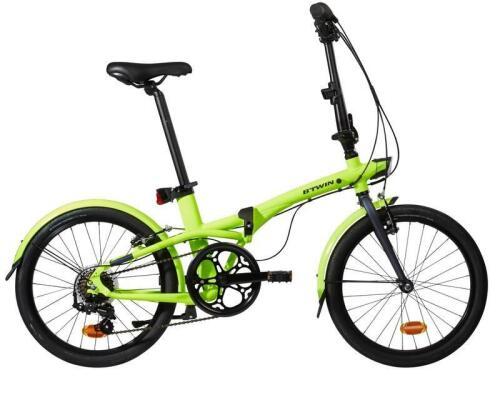 bicicleta ciclismo spv bicicleta intermodal bicicleta plegable tilt btwin