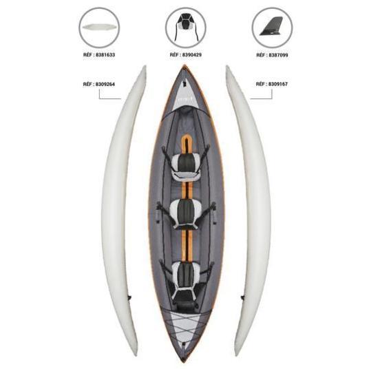Pièces détachées kayak Itiwit 3