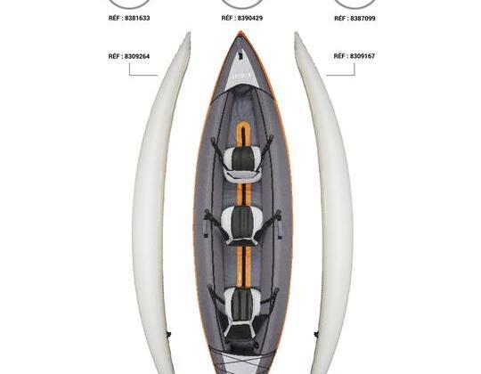 Pezzi di ricambio kayak Itiwit 3