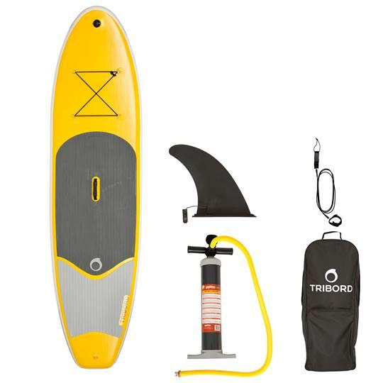 TRIBORD-SUP-GONFLABLE-98-JAUNE