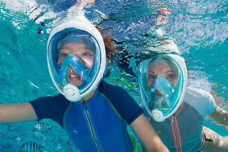 浮潛 | 如何挑選 Easybreath 全乾式浮潛面罩的尺寸