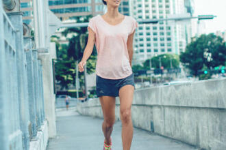 ENJOY THE STRESS-BUSTING BENEFITS OF ACTIVE WALKING (Import)