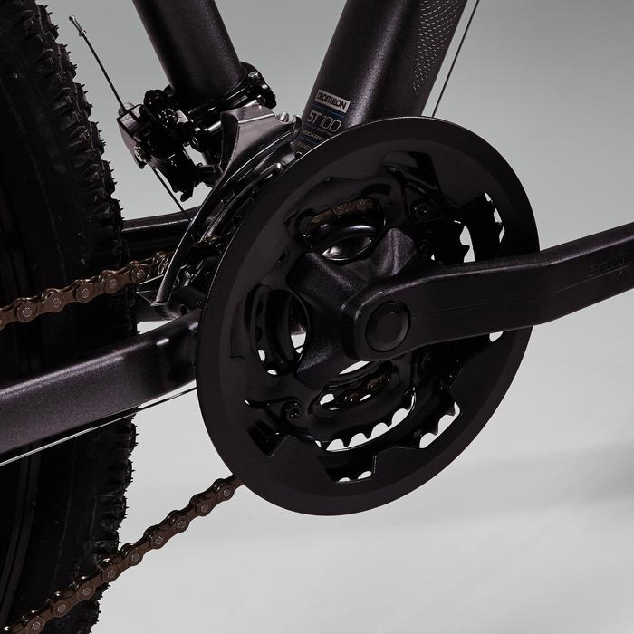 """MTB Rockrider ST100 27.5"""" B'TWIN 3x7-speed mountainbike Grijs"""
