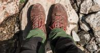 trekking shoe wear