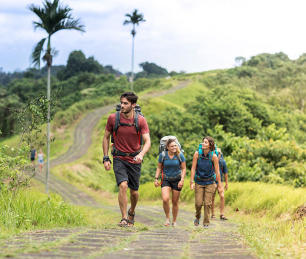 trekking en mode backpacker