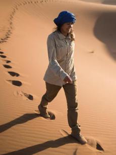 trek desert trekking desert maroc tenue femme