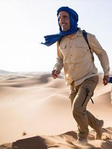trek desert trekking desert maroc tenue homme