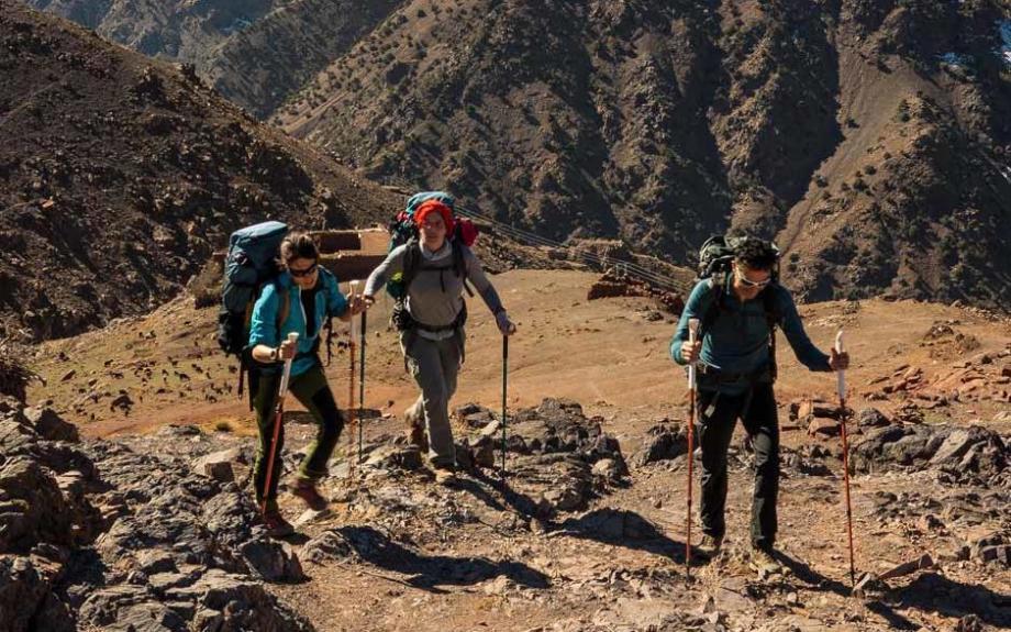conception sac à dos trekking montagne