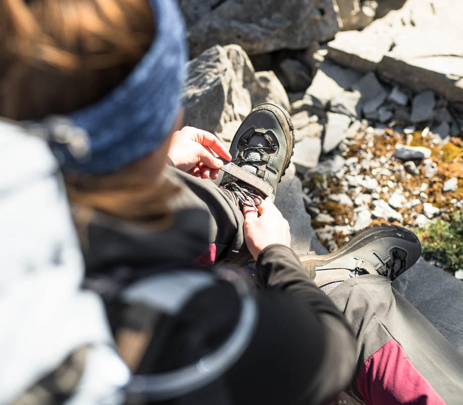 entretien chaussures trek