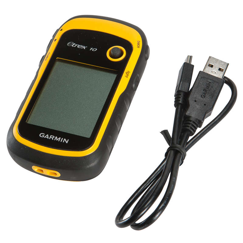 VISINOMJER ILI NAVIGACIJA - GPS Etrex 10 za planinarenje NO BRAND - BLACK