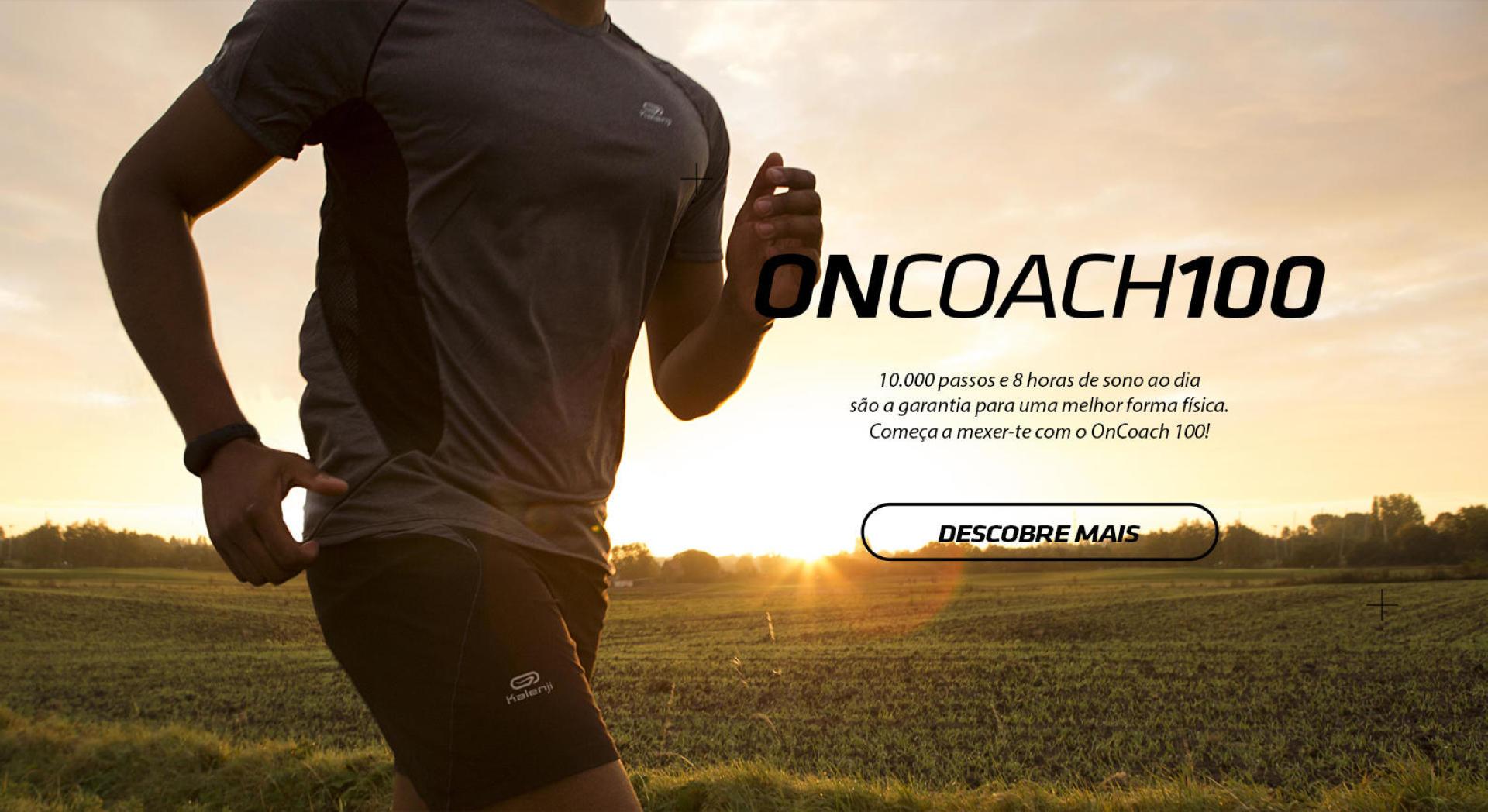 Descobre la pulseira conectada ONcoach 100