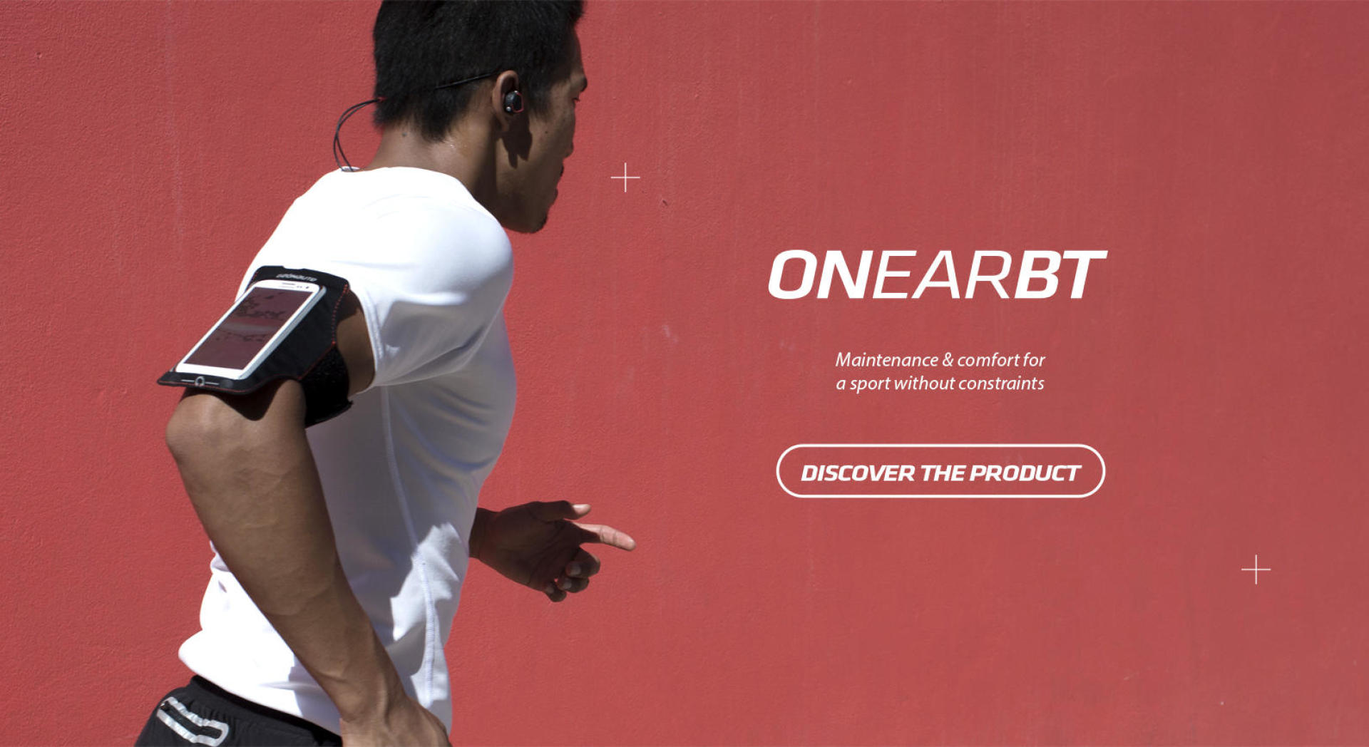 Discover our sports earphones ONear Bluetooth