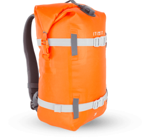 sac polochon orange itiwit by decathlon