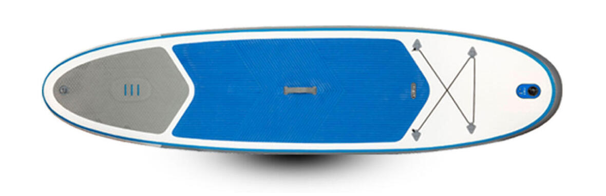 stand up paddle gonflable 10'7 bleu itiwit