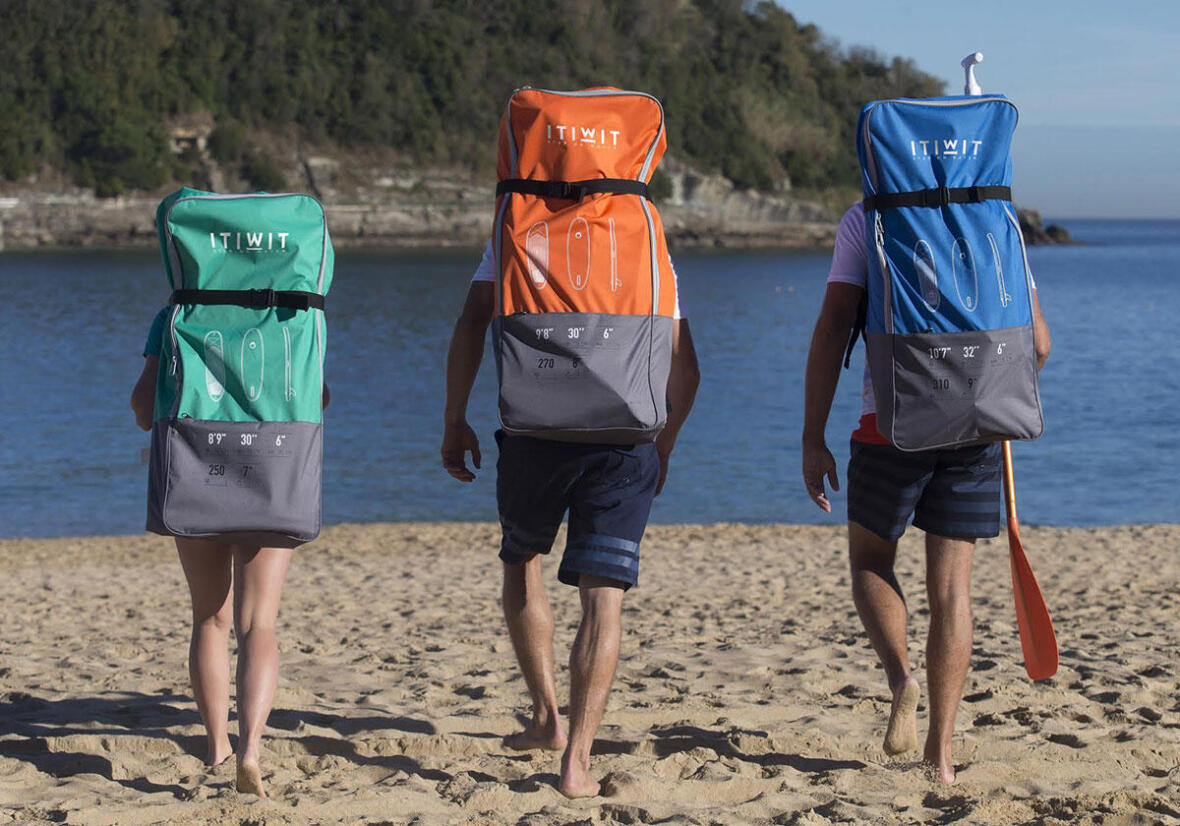 stand up paddle sacs itiwit transportable
