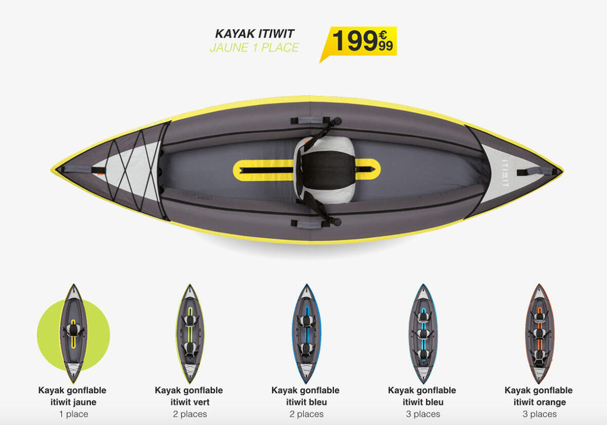 kayak-gonflable-itiwit-vert-2-places-transportable decathlon