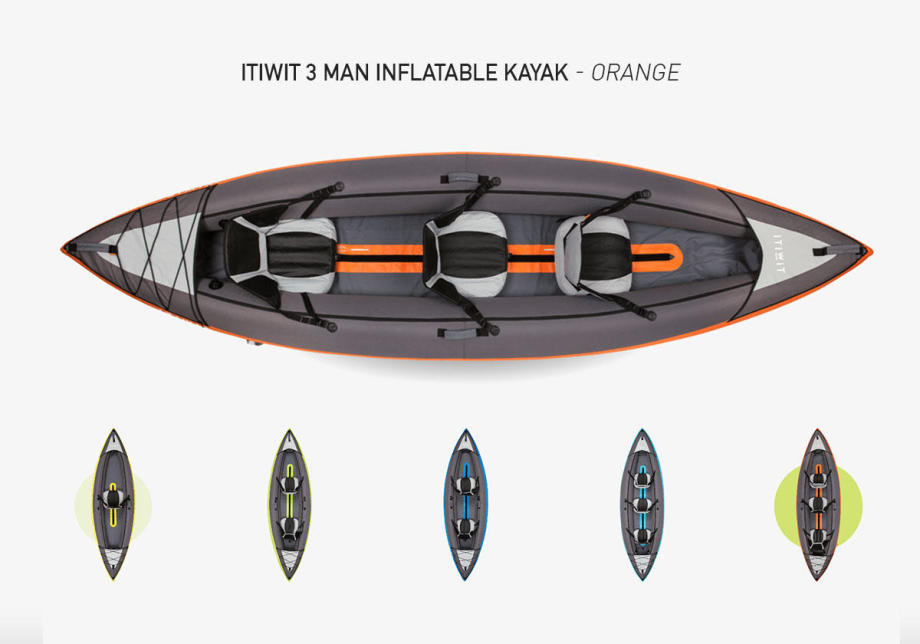 kayak-inflatable-itiwit-orange-3-man-decathlon