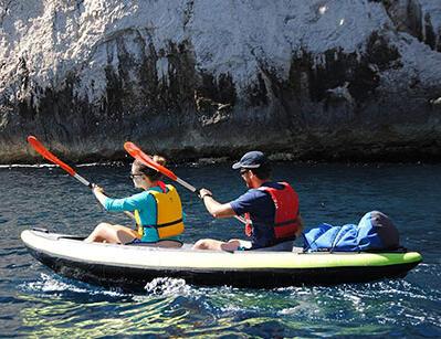 sac-polonchon-etanche-sur-le-kayak-itiwit-vert-gonflable-2-places-decathlon