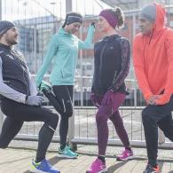 courez en groupe et restez motivés
