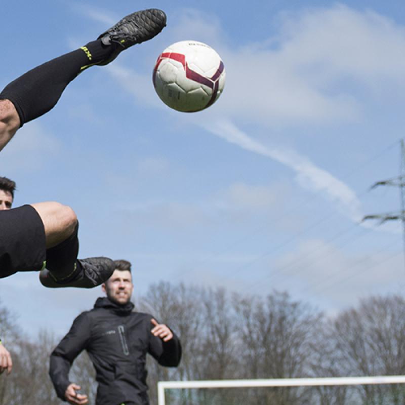 Gestes techniques du football